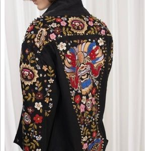 French connection Mazie floral jacket 0 2 4 NWT